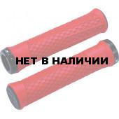 Грипсы BBB Python 142mm red / lockring красный/черный
