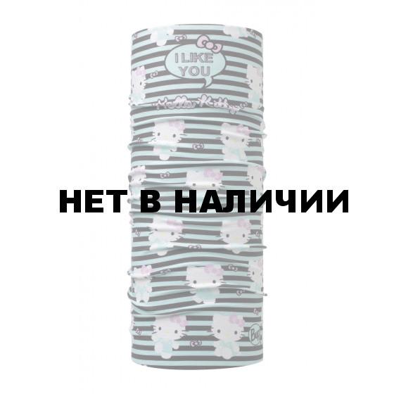 Бандана BUFF Hello Kittu Original Tipography Aqua