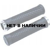 Грипсы BBB Python 142mm / lockring dark grey черный/серый