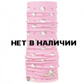 Бандана BUFF Polar Buff HELLO KITTY CHILD POLAR BUFF HEARTSANDDOTS / PINK PALE