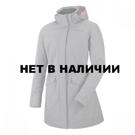 Куртка для активного отдыха Salewa 2016-17 FANES PTX/TW W JKT grey/quietshad/bkout