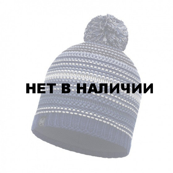 Шапка BUFF KNITTED & POLAR HAT NEPER BLUE INK