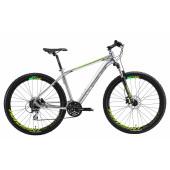 Велосипед Welt 2018 Rockfall 1.0 SE polish silver/acid green