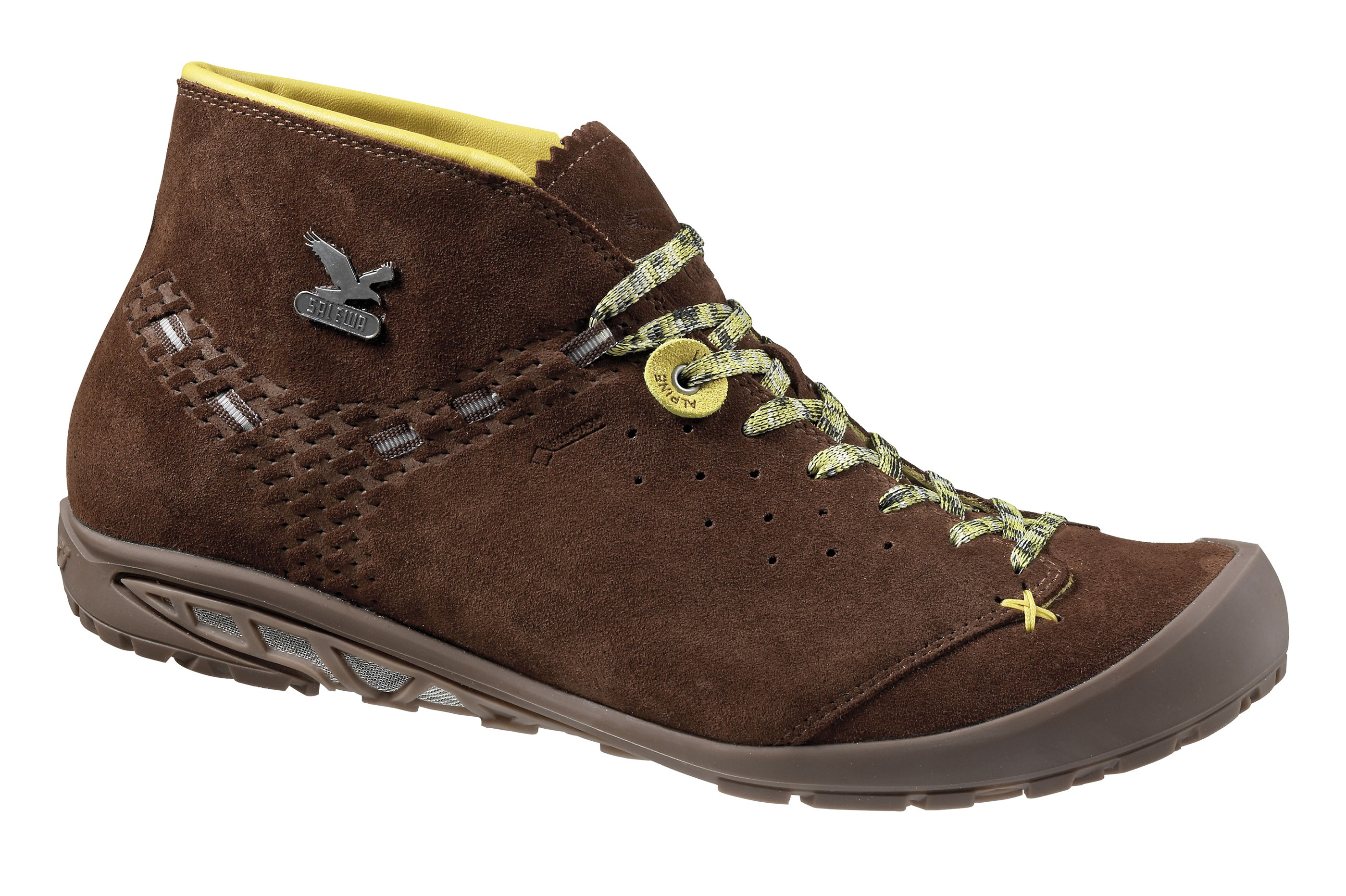 d491d2a5c743 Ботинки городские (высокие) Salewa Alpine Life MS ESCAPE MID GTX  Chocolate Gneiss