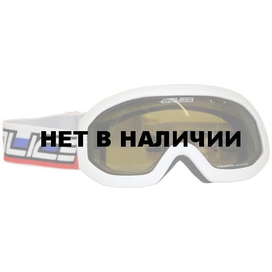 Очки горнолыжные Salice 2016-17 992DARU WHITE-RUS / GOLDGREEN