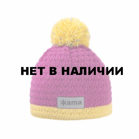 Шапка Kama 2017-18 B71 pink (US:M)