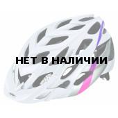 Велошлем Alpina 2018 D-Alto white-silver-pink