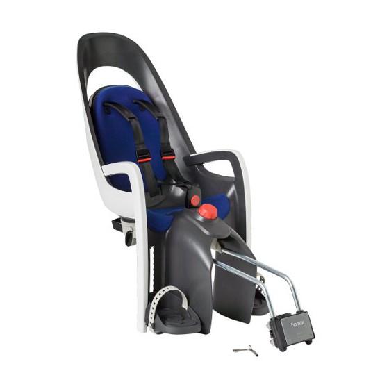 Детское кресло HAMAX CARESS W/LOCKABLE BRACKET серый/белый/синий
