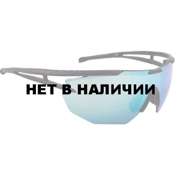 Очки солнцезащитные Alpina 2018 ALPINA EYE-5 SHIELD CM+ black matt