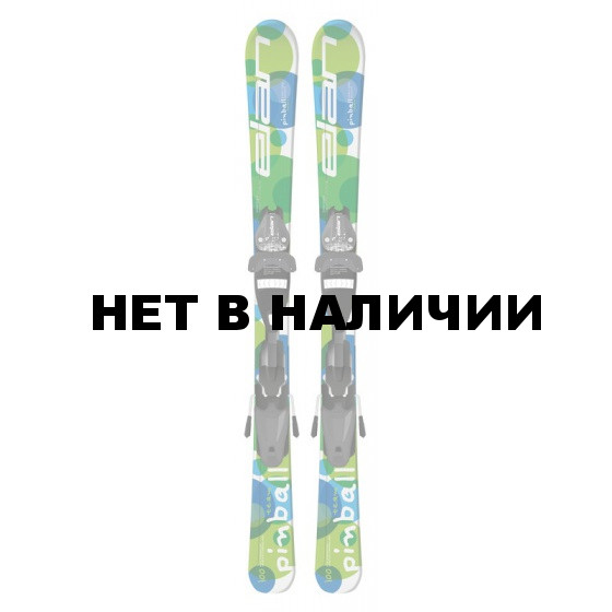 Горные лыжи с креплениями Elan 2015-16 PINBALL TEAM QT EL 4.5 (110-120)