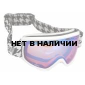 Очки горнолыжные Salice 609DARWFV WHITE-BLACK/RADIUM (б/р:ONE SIZE)