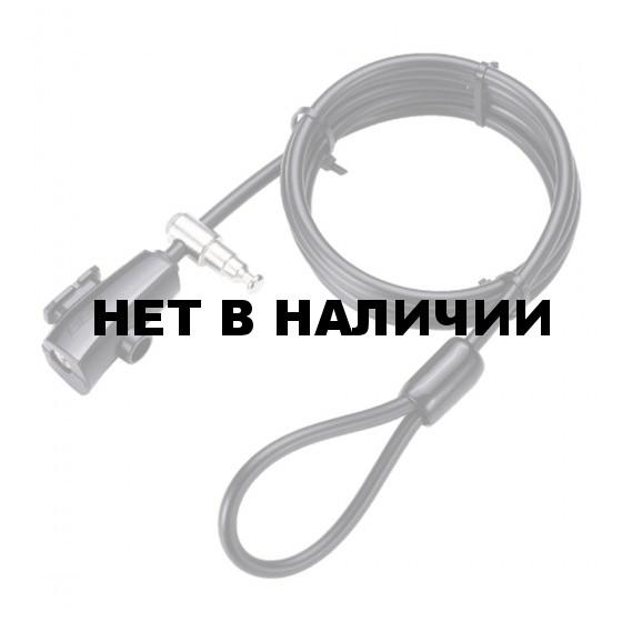 Замок велосипедный BBB QuickLoop 8mm x 2000mm ключевой (BBL-63)
