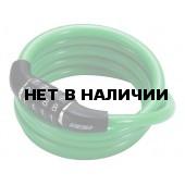 Замок велосипедный BBB 2015 bicyclelock CodeFix 8mm x 1200mm Coil cable green (BBL-65)