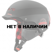 Зимний Шлем Alpina SPAM CAP JR black-lumberjack matt (см:51-54)