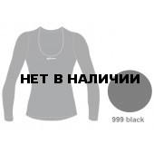 Футболка с длинным рукавом ACCAPI TECNOSOFT PLUS LONG SL.WIDE NECK T-SHIRT LADY (black) черный (US:XS)