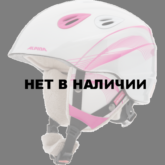 Зимний Шлем Alpina GRAP 2.0 JR pink-prosecco