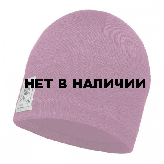 Шапка BUFF 2016-17 KNITTED & POLAR HAT BUFF® SOLID PINK CERISSE-PINK CERISSE-Standard