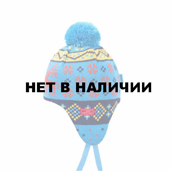 Шапка Kama 2017-18 BW19 cyan (US:S)
