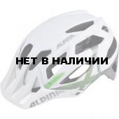 Велошлем Alpina 2018 Garbanzo white-titanium-green