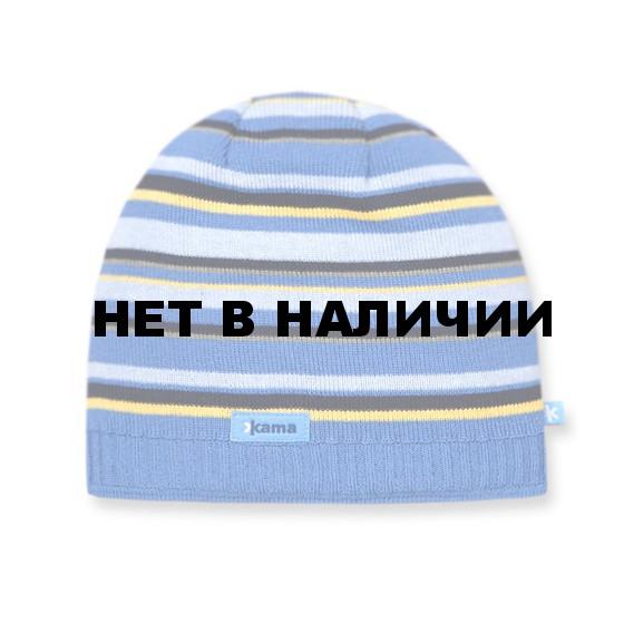 Шапка Kama A49 (blue) голубой