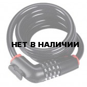 Замок велосипедный BBB CodeLock coil cable combination lock 12mm x 1800mm (BBL-45)