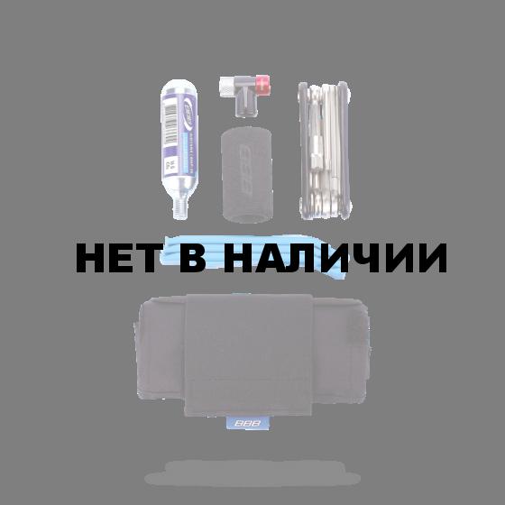 Дорожный вело-комплект BBB Toolpack (toolroll +BTL-41S+BTL-81blue+BMP-32) черный