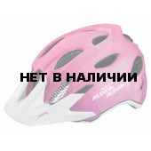Велошлем Alpina 2018 Carapax Jr. Flash pink-white