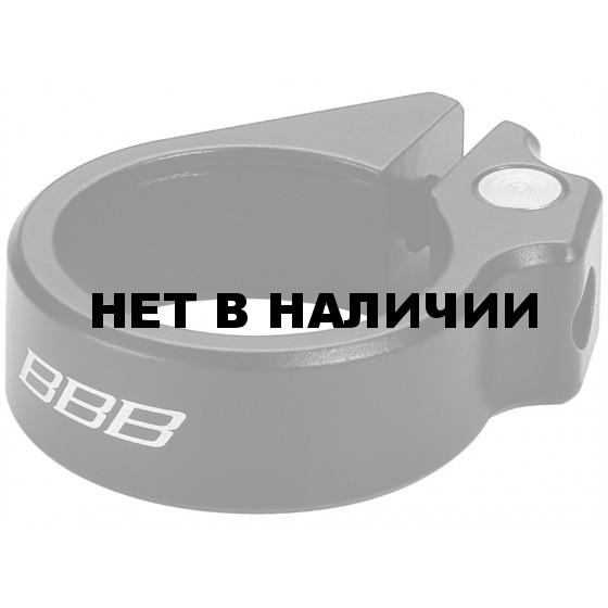 Подседельный хомут BBB Carbonstrangler 34.9 black (BSP-82)