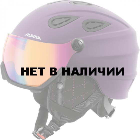 Зимний Шлем Alpina GRAP Visor HM deep-violet matt