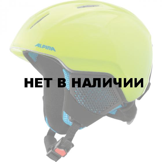 Зимний Шлем Alpina CARAT LX neon-yellow