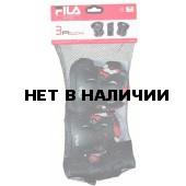 Комплект защиты FILA 2014 Junior Gear (Колени локти запястья) Black/Red