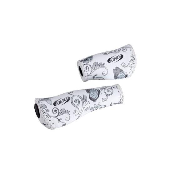 Грипсы BBB grips ErgoFix 92mm/135mm butterfly silver (BHG-17N_butterfly silver)