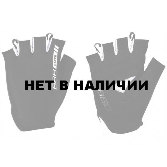 Перчатки велосипедные BBB 2015 gloves Racer black white (BBW-44)