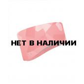Повязка BUFF WINDPROOF HEADBAND BLOCK CAMO FLAMINGO PIN L/XL