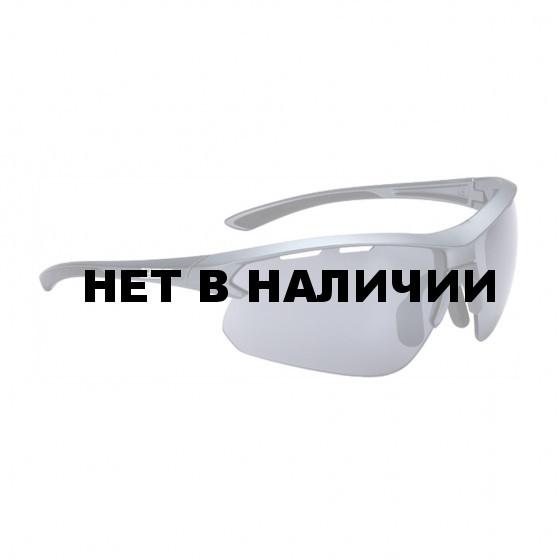 Очки солнцезащитные BBB 2018 Impulse PC Smoke flash mirror lenses черный, металл