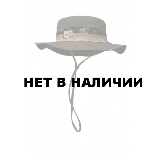 Кепка BUFF BOONEY HAT HASHTAG MOSS GREEN
