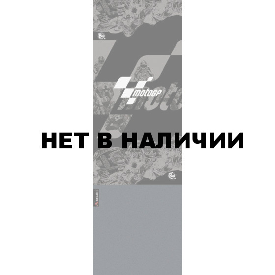 Бандана BUFF MOTO GP POLAR BUFF BLACK RACE/GREY
