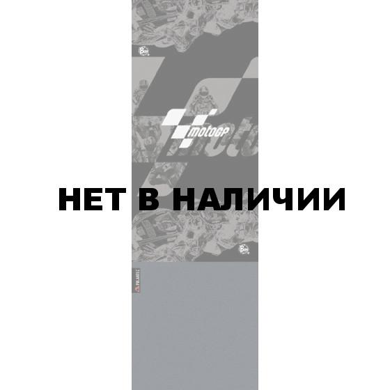 Бандана BUFF MOTO GP POLAR BUFF BLACK RACE/GREY