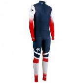 Комплект беговой Bjorn Daehlie 2017-18 Racesuit Nations 2-Piece Norwegian Flag