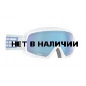 Очки горнолыжные Salice 608DAF WHITE-BLUE/LUMINAL