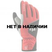 Перчатки беговые Bjorn Daehlie 2016-17 Glove TRACK JR High Risk Red
