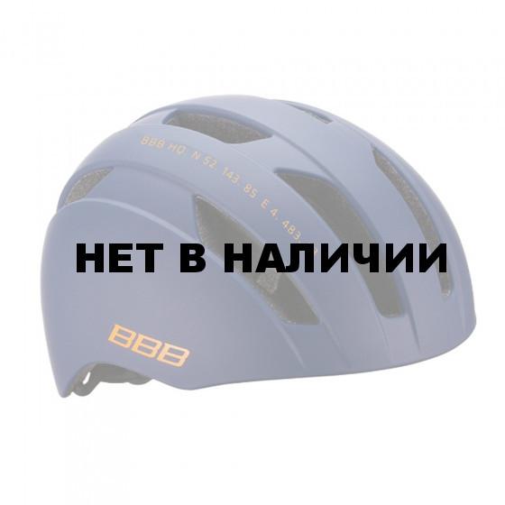 Велошлем BBB 2018 Metro синий