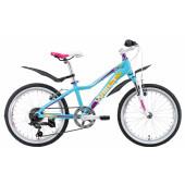 Велосипед Welt 2018 Edelweiss 20 matt lightblue/violet