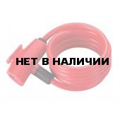 Замок велосипедный BBB QuickSafe 8mm x 1500mm ключевой красный (BBL-61)