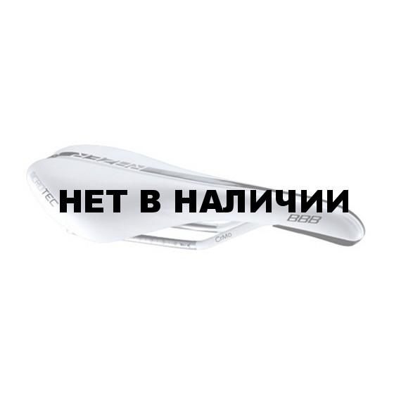 Седло BBB Razer mircrofiber CrMo rail 140mm white (BSD-63W)