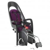 Детское кресло HAMAX CARESS W/LOCKABLE BRACKET серый/фиолетовый