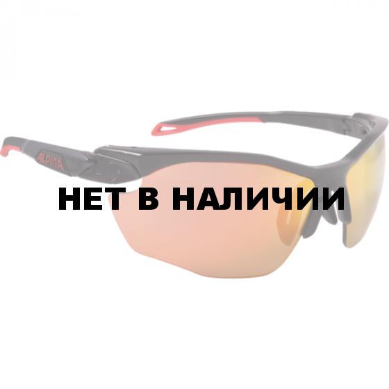 Очки солнцезащитные Alpina 2018 TWIST FIVE HR CM+ black matt-red