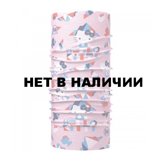 Бандана BUFF HELLO KITTY ORIGINAL CHILD MOUNTAIN LIGHT PINK