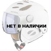 Зимний Шлем Alpina JUMP JV VHM white-prosecco matt