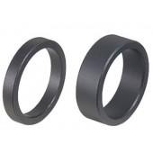 Проставочные кольца BBB AluSpace 1-1/8 black 15mm, 50pcs polybag (BHP-33OEM 15mm, 50pcs)